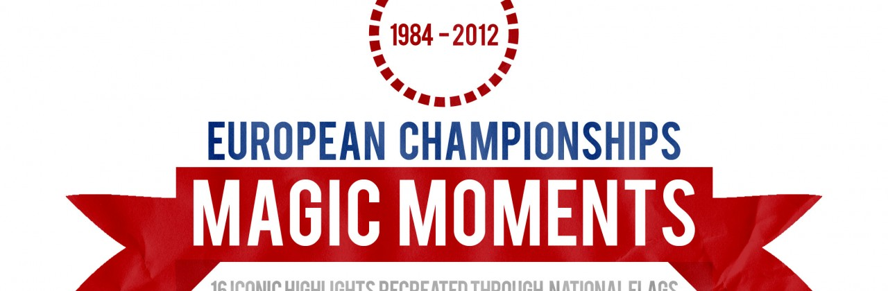 Magical Flag Moments From Euro 2012