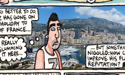 The Friday Cartoon: Luis Suarez's Long Summer