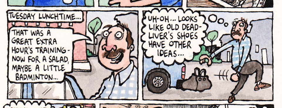 The Friday Cartoon: Bert's Brogues