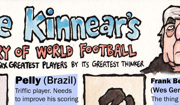 The Friday Cartoon: Joe Kinnear's History Of World Football