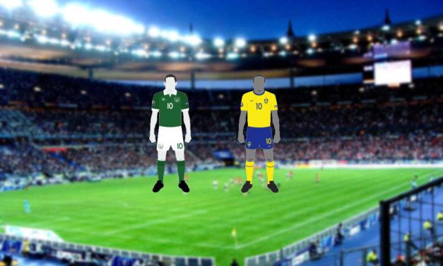 Euro 2016: Ireland vs Sweden… Live!
